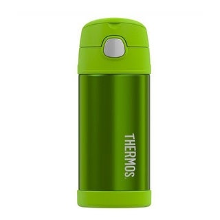 Thermos Funtainer Vacuum Insulated Stainless Steel Bottle (12 oz/ Lime)