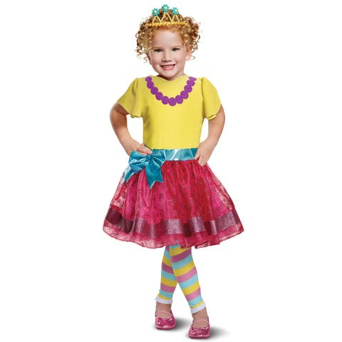 Disguise Fancy Nancy Deluxe Toddler Costume - Pink/Gold