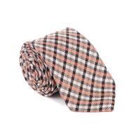Tom Ford Mens Geometric Striped Silk Blend Tie - One Size