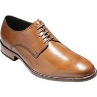 Cole Haan Men's Williams Postman II Plain Toe Derby British Tan Leather