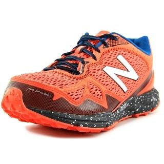 New Balance MT910 Men Round Toe Synthetic Orange Trail Running
