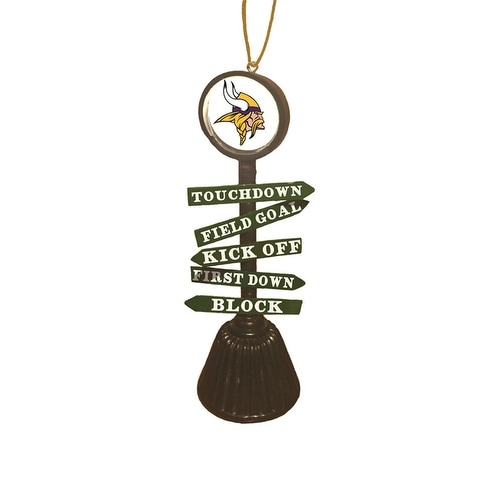Minnesota Vikings Fan Crossing Ornament