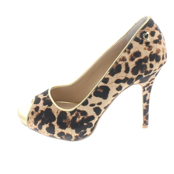 Thalia Sodi Womens CEREZA Open Toe Platform Pumps