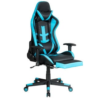 Link to Reclining Racing Chair with Lumbar Support Footrest Similar Items in Ergonomic Chairs