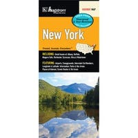 Universal Map 14328 New York State Waterproof Map