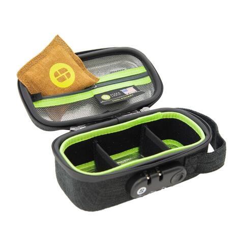 StashLogix Silverton Odorproof Locking Stash Bag (Small, Black) - Small