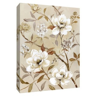 "PTM Images 9-148676  PTM Canvas Collection 10"" x 8"" - ""Chinoiserie"" Giclee Flowers Art Print on Canvas"