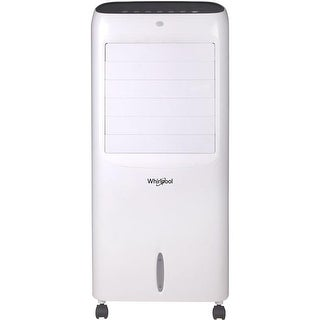 214 CFM Indoor Evaporative Air Cooler with Remote Control & Ice