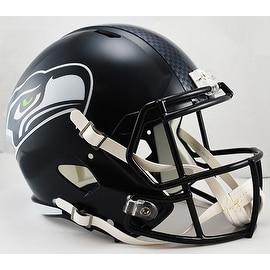 Seattle Seahawks Riddell Full Size Deluxe Replica Speed Football Helmet