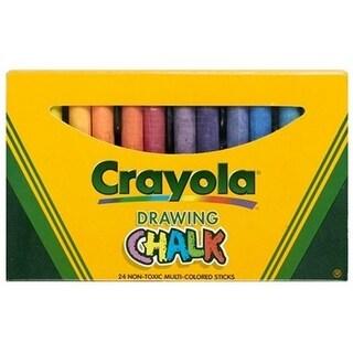 Crayola 1701 Anti-Dust Chalk, Chalk Holder With Aluminum Clip