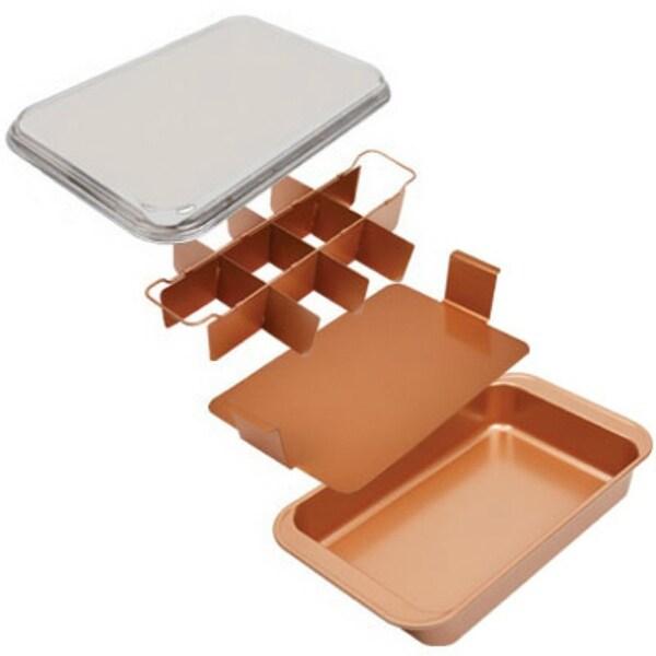 Shop Copper Chef Ccbc Bake Amp Crisp Pan With Adjustable