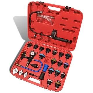 vidaXL 27 pcs Radiator Pressure Tester with Vacuum Purge and Refill Kit