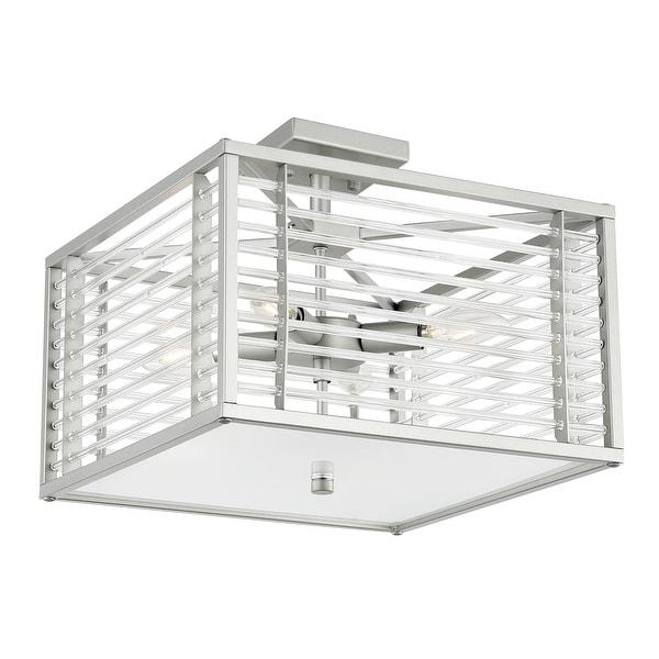 Light Society Malin 4-Light Square Ceiling Light. Opens flyout.