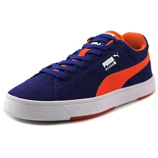 Puma Skate Lace-Up Round Toe Synthetic Sneakers