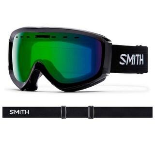 Smith Optics 2017/18 Prophecy OTG Goggle - Black Frame, ChromaPop Everyday Green Mirror Lens