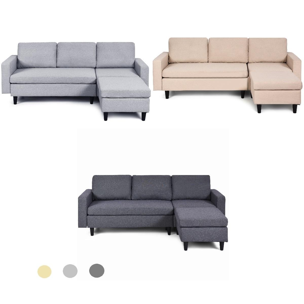 Costway Convertible Sectional Sofa