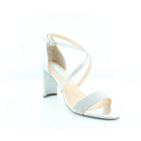 Betsey Johnson Bella Women's Heels Silver Glitter