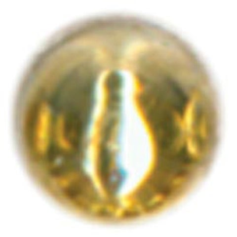 Gold - Raised Metal Dots 5Mm Round 64/Pkg