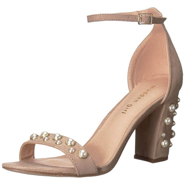 b64eca206cc2 Shop Madden Girl Womens Bitsyy Suede Open Toe Casual Ankle Strap ...