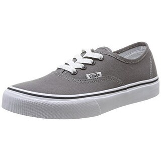 Vans Kids Uy Authentic, Pewter/Blk, 13