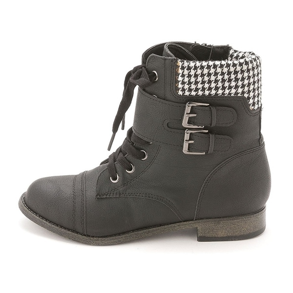Rampage Womens Jency Closed Toe Mid-Calf Fashion Boots