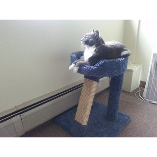 New Cat Condos 24-inch Elevated Cat Bed Tree