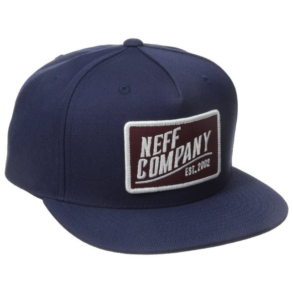 c6f6ef88157253 Shop Neff NEW Navy Blue Adjustable Snapback Men's Baseball Cap Acrylic Hat  462 - Free Shipping On Orders Over $45 - Overstock - 20437444