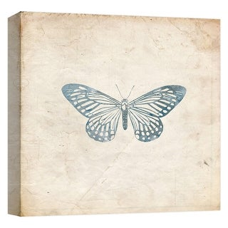 """PTM Images 9-124644  PTM Canvas Collection 12"""" x 12"""" - """"Silver Monarch"""" Giclee Butterflies Art Print on Canvas"""