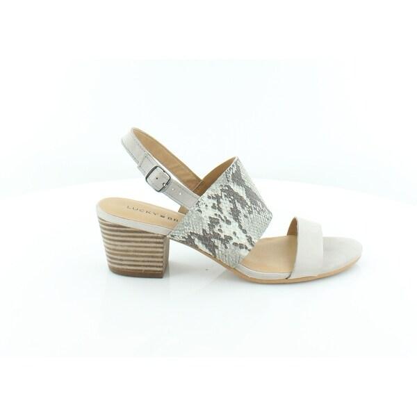Lucky Brand Gewel Women's Sandals Cobblestone - 8