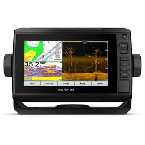 Garmin ECHOMAP 73cv UHD 7 Inch Chartplotter With GT24UHD-TM Transducer