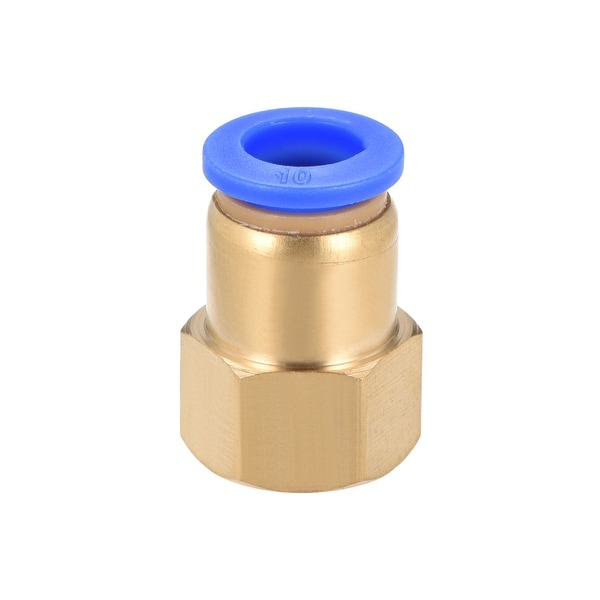 """3/8"""" G Female Straight Thread 10mm Push In Joint Pneumatic Quick Fittings - 3/8"""" G x 10mm"""