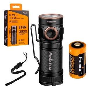 Fenix E18R 750 Lumen Ultra Compact Rechargeable Flashlight