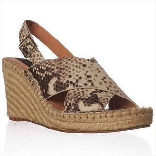 STEVEN by Steve Madden Stelarr Espadrille Wedge Sandals - Black/tan