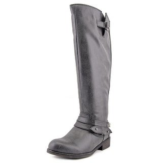 Madden Girl Caanyon Wide Calf Women Round Toe Synthetic Knee High Boot