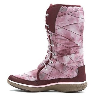 Merrell Womens Pechora Peak Faux Fur Mid-Calf Winter Boots