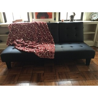 Avenue Greene Julia Cup Holder Convertible Futon Sofa Bed