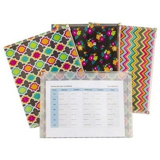 C-Line Products CLI55610 Bold Basics Reusable Envelope - Pack of 3