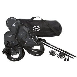 *NEW and IMPROVED 2016 Model* Winterial All Terrain Adult Snowshoes with Poles and Carry Bag
