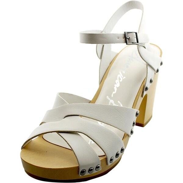 American Rag Cassidy Women Open Toe Synthetic White Platform Heel