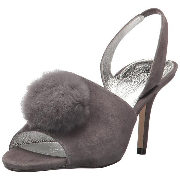 Adrianna Papell Women's Alecia Heeled Sandal, Grey, Size 9.0