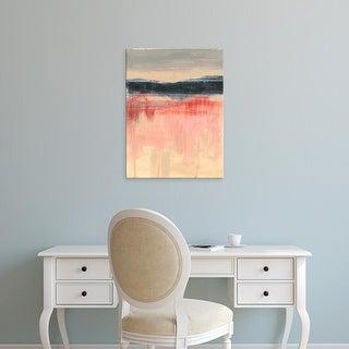Easy Art Prints Jennifer Goldberger's 'Paynes Horizon II' Premium Canvas Art