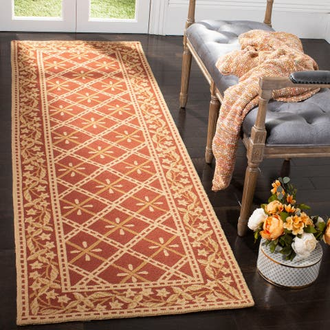 Safavieh Hand-hooked Chelsea Brittnee Country Oriental Wool Rug