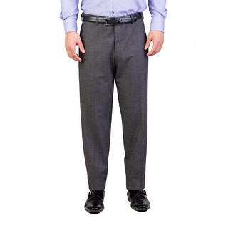 Prada Men's Slim Fit Wool Trouser Pants Grey - 34