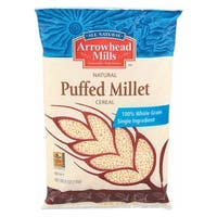 Arrowhead Mills All Natural Puffed Millet Cereal - Case of 12 - 6 oz.
