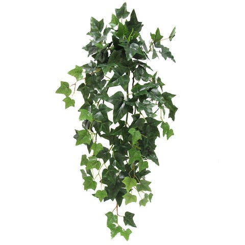 "English Ivy Hanging Greenery Foliage Bush 35in - 35"" L x 16"" W x 16"" DP"