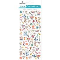 Paper House Life Organized Micro Stickers  -Free Spirit