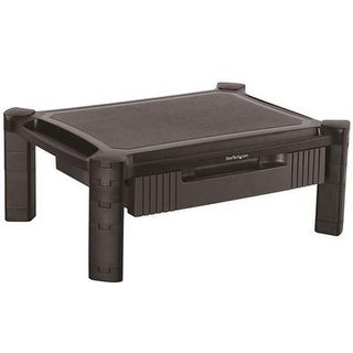 Startech Adjustable Monitor Riser  Drawer  Monitors Up To 32 Adjustable Height  Monitor Stand  Computer Monito