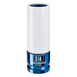 "Powerbuilt® 1/2"" Drive 3/4"" Lug Nut Socket With Sleeve - 941042"