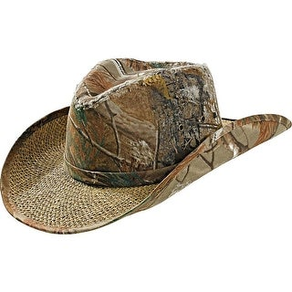 Legendary Whitetails Men's Realtree Camo Timber Rattler Cowboy Hat