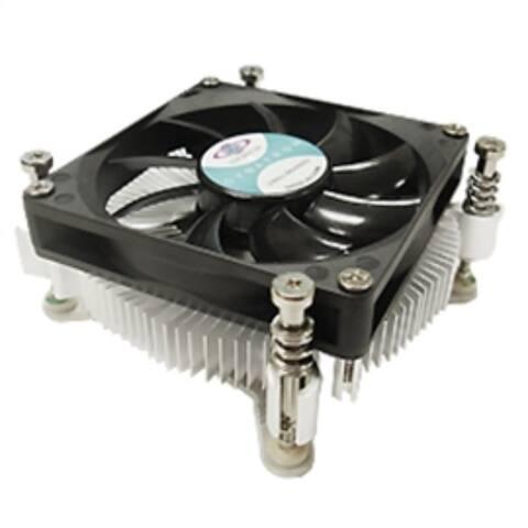 Dynatron Fan T450 Core i7/i5/i3 LGA1155/1156/1150 80mm 2xBall Bearing 12V mini-ITX Brown Box